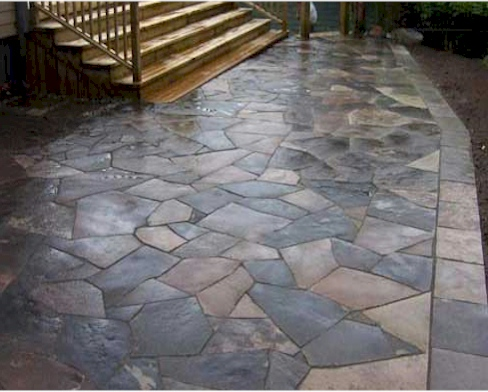 Flagstone Patio Installation - Get A Flagstone Patio Installed - Bob's Flagstone Patios